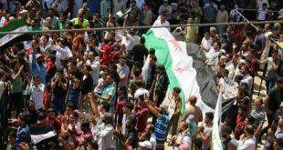 الثورة السورية - مظاهرة معرة النعمان نصرة للمعتقلين
