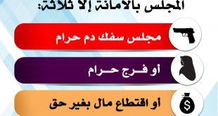 أخلاقنا الإسلامية - المجالس بالأمانة إلا ثلاثة